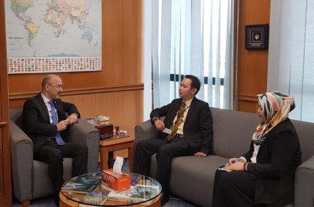 Tajikistan Ambassador met with the Undersecretary of the South and Central Asia Department