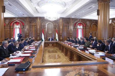 Meeting of the Government of Tajikistan