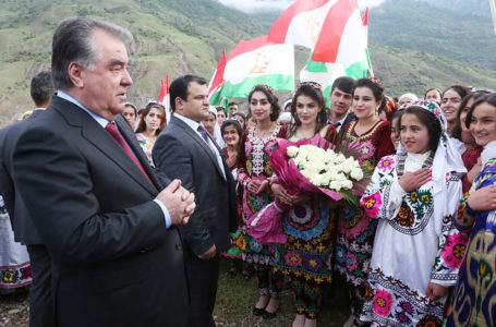 President Emomali Rahmon's Working Trip to Sangvor District