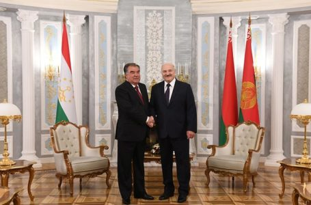 Top-level talks between Tajikistan and Belarus