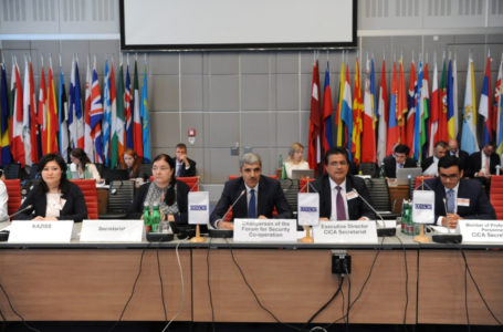 Outcomes of the Dushanbe CICA Summit were presented in the OSCE Headquarters