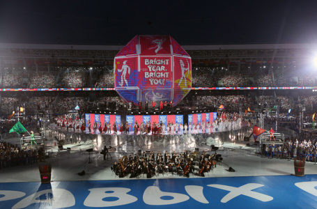 Participation in the closing ceremony of the second European Games Minsk 2019