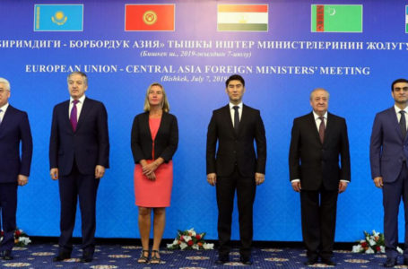 Tajikistan Delegation participated in Central Asia – EU Foreign Ministers Meeting