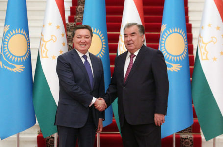 Meeting with the Prime Minister of Kazakhstan Askar Mamin