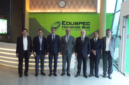 Meeting of the Ambassadors with Eduspec Holdings Bhd