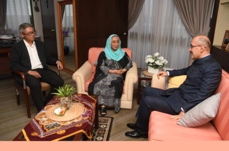 "Meeting of the Ambassador of the Republic of Tajikistan with the Chief Executive Officer of the Malaysian National News Agency ""Bernama"""