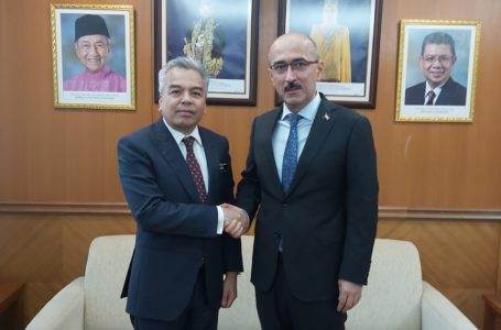 Meeting of the Ambassador of the Republic of Tajikistan with the Deputy Secretary General for Bilateral Affairs of the Ministry of Foreign Affairs of Malaysia