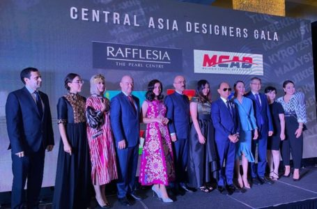 The Fashion Week of the Central Asian countries in Malaysia