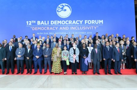 Ambassador's participation in the Bali Democratic Forum