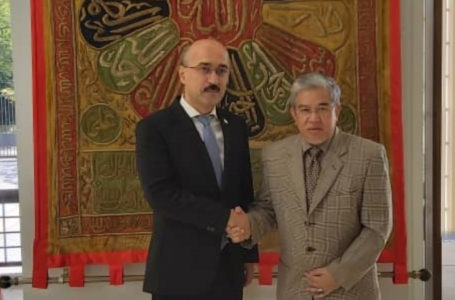 Meeting of the Ambassador of the Republic of Tajikistan with the Ambassador of Brunei Darussalam