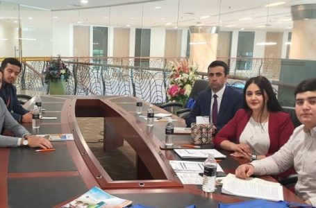 Meeting with Tajik citizens in the Universities