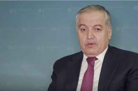 Interview of the Foreign Minister of Tajikistan on the sidelines of the Green Central Asia Conference