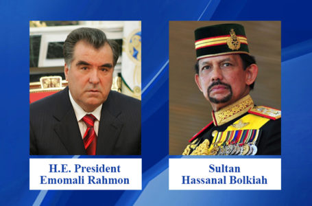 Congratulatory message of the Sultan of Brunei to the President of the Republic of Tajikistan