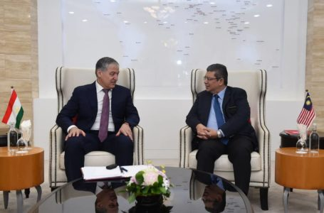 Meeting of the Ministers of Foreign Affairs of Tajikistan and Malaysia