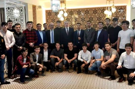 Meeting of the Minister of Foreign Affairs with Tajik students in Malaysia