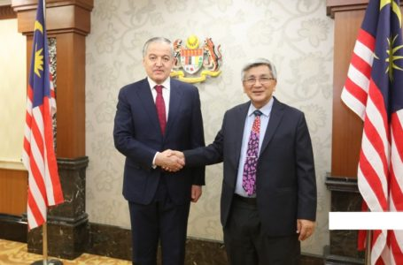 Meeting of the Minister of Foreign Affairs with the Speaker of the House of Representatives of Parliament of Malaysia