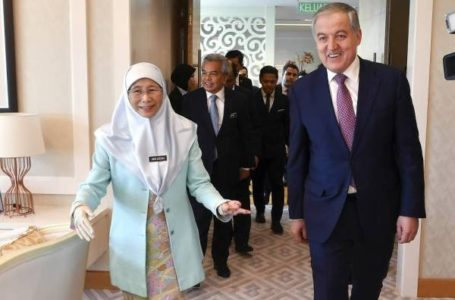 Meeting of the Minister of Foreign Affairs of Tajikistan with the Deputy Prime Minister of the Malaysia