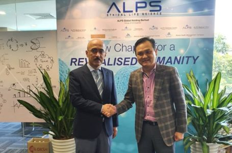 Meeting with CEO of Alps medical center