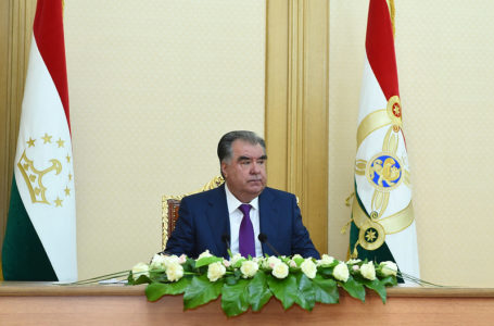 Participation in the first session of the National Assembly of the Supreme Assembly of Tajikistan