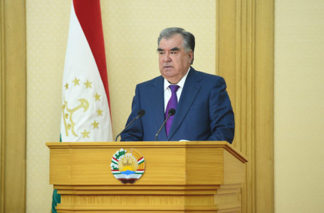 Address by the President of the Republic of Tajikistan, the Founder of Peace and National Unity, Leader of the Nation, H.E. Emomali Rahmon at the First Session of Majlisi Milli (National Assembly), sixth convocation