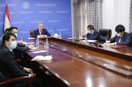 Video conference of the Ministers of Foreign Affairs of Central Asia and the EU