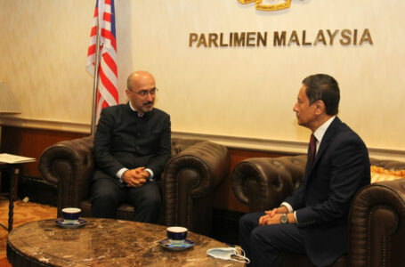 Meeting of Ambassador with the Speaker of Dewan Rakyat of Malaysia