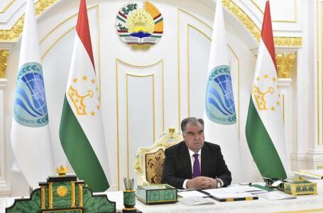 President Emomali Rahmon Attends SCO Summit