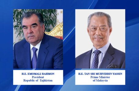 Congratulatory message of the Prime Minister of Malaysia to the President of the Republic of Tajikistan