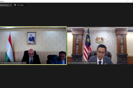 Virtual meeting of the Chairman of Majlisi Namoyandagon of Majlisi Oli of the Republic Tajikistan with the Speaker of the House of Representatives of Parliament of Malaysia