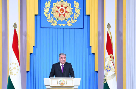 Tajikistan Establishes Diplomatic Relations with 178 Countries