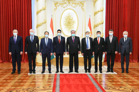 Reception of letters of credence from six new ambassadors