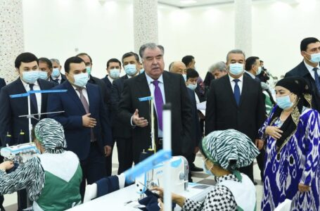 President Emomali Rahmon's Working Trip to Jaloliddini Balkhi district