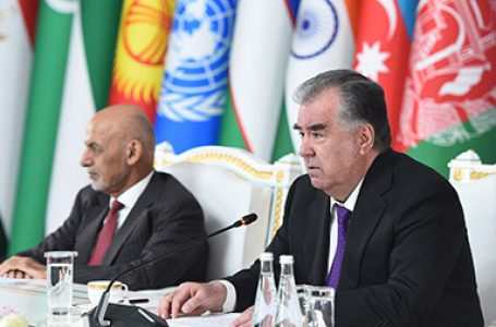Speech by the President of the Republic of Tajikistan at the Heart of Asia – Istanbul Process 9th Ministerial Conference