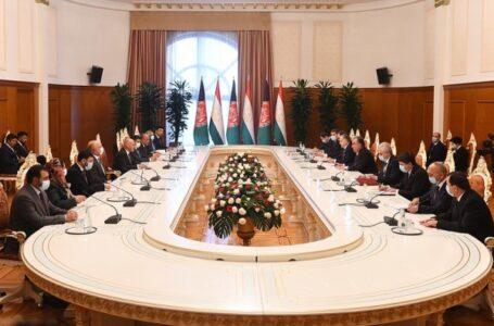Tajikistan — Afghanistan Talks
