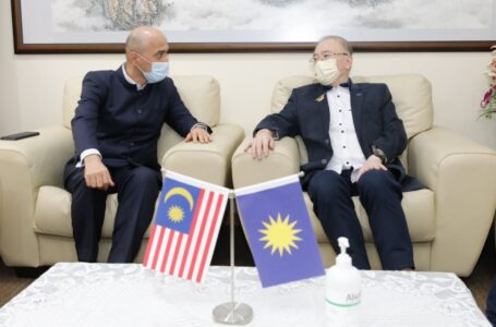 Meeting of the Ambassador of the Republic of Tajikistan H.E. Ardasher  Qodiri with the Minister of Transport of Malaysia Datuk Seri Ir. Dr.  Wee Ka Siong