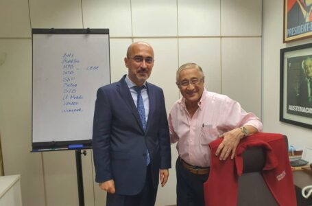 Meeting of the Ambassador with H. E  Austen Zecha-Co-Founder/President and CEO of ISC