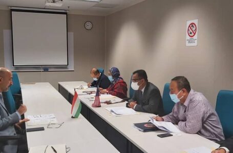 Meeting of the Ambassador with the Deputy Secretary General of the Ministry of International Trade and Industry of Malaysia