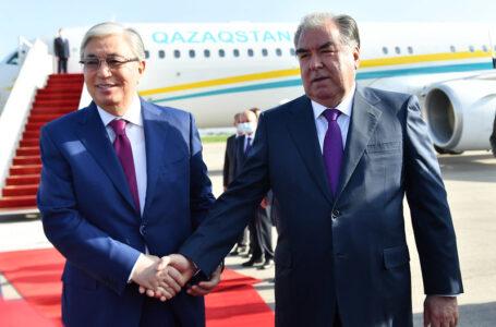 Tajikistan – Kazakhstan summit meeting