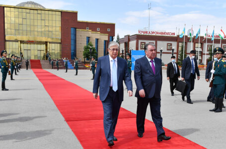Completion of the official visit of the President of the Republic of Kazakhstan Kassym-Jomart Tokayev to Tajikistan