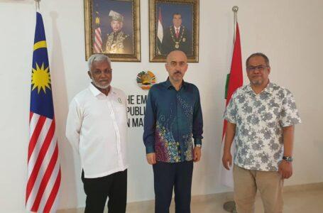 Meeting of the Ambassador with Dato Seri Mustaffa Ismail Managing Director of Al Farrah Solution SDN BHD and Datuk Hj Mohd Najib Bin Alwi Managing Director of D-Jah Corporation SDN BHD
