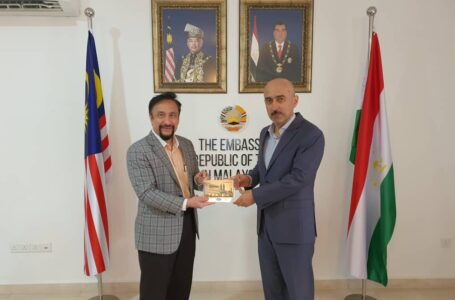 Meeting of the Ambassador of the Republic of  Tajikistan to Malaysia with Dato Akmal Arief Dr. Fauzi Deputy Group Chief Executive Officer of IJN Holdings SDN BHD