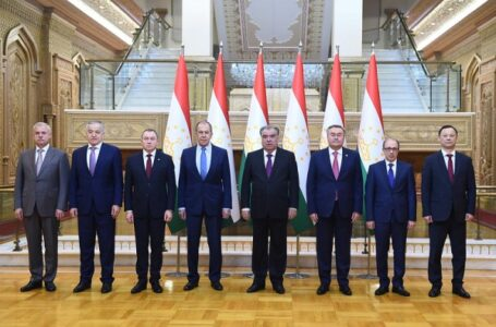 Emomali Rahmon Meets CSTO Foreign Ministers