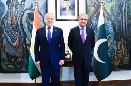 Meeting of the Ministers of Foreign Affairs of Tajikistan and Pakistan