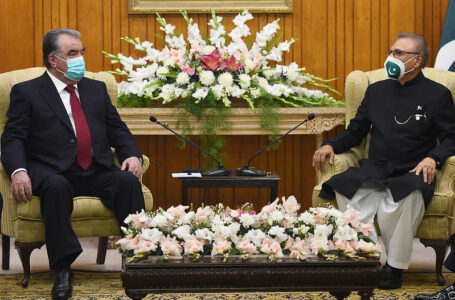 Meeting with the President of the Islamic Republic of Pakistan Arif Alvi