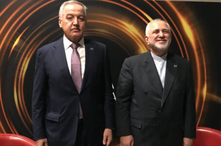 Meeting of the Ministers of Foreign Affairs of Tajikistan and Iran