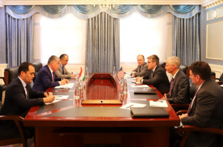 Meeting of the Minister of Foreign Affairs with the U.S. Department of State's Acting Assistant Secretary for South and Central Asia
