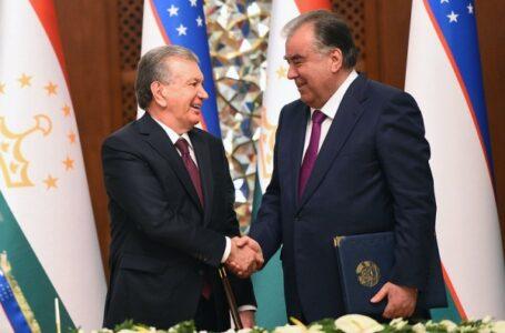 Tajikistan-Uzbekistan Sign Documents