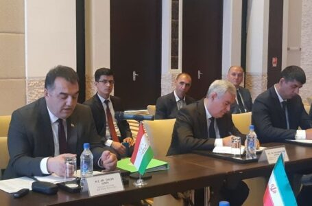 Tajikistan and Iran Hold A Meeting of the Joint Commission on Trade, Economic, Technical and Cultural Cooperation