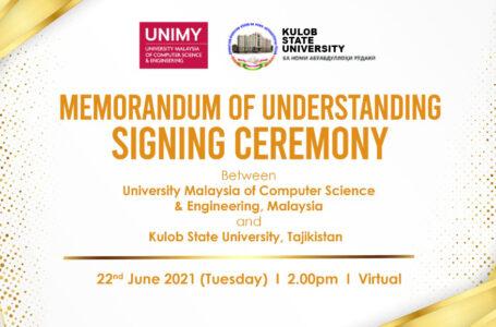 Signing Ceremony between  Tajikistan and Malaysian Universities