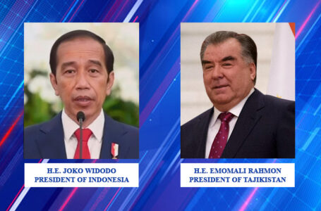 Congratulatory Message of the President of the Republic of Tajikistan to the President of the Republic of Indonesia